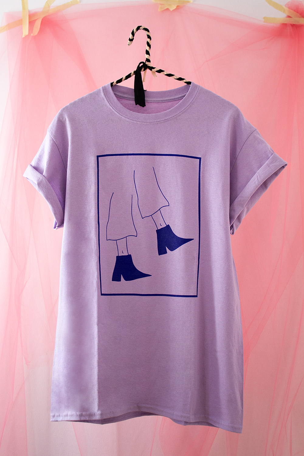 t-shirt souliers groovy