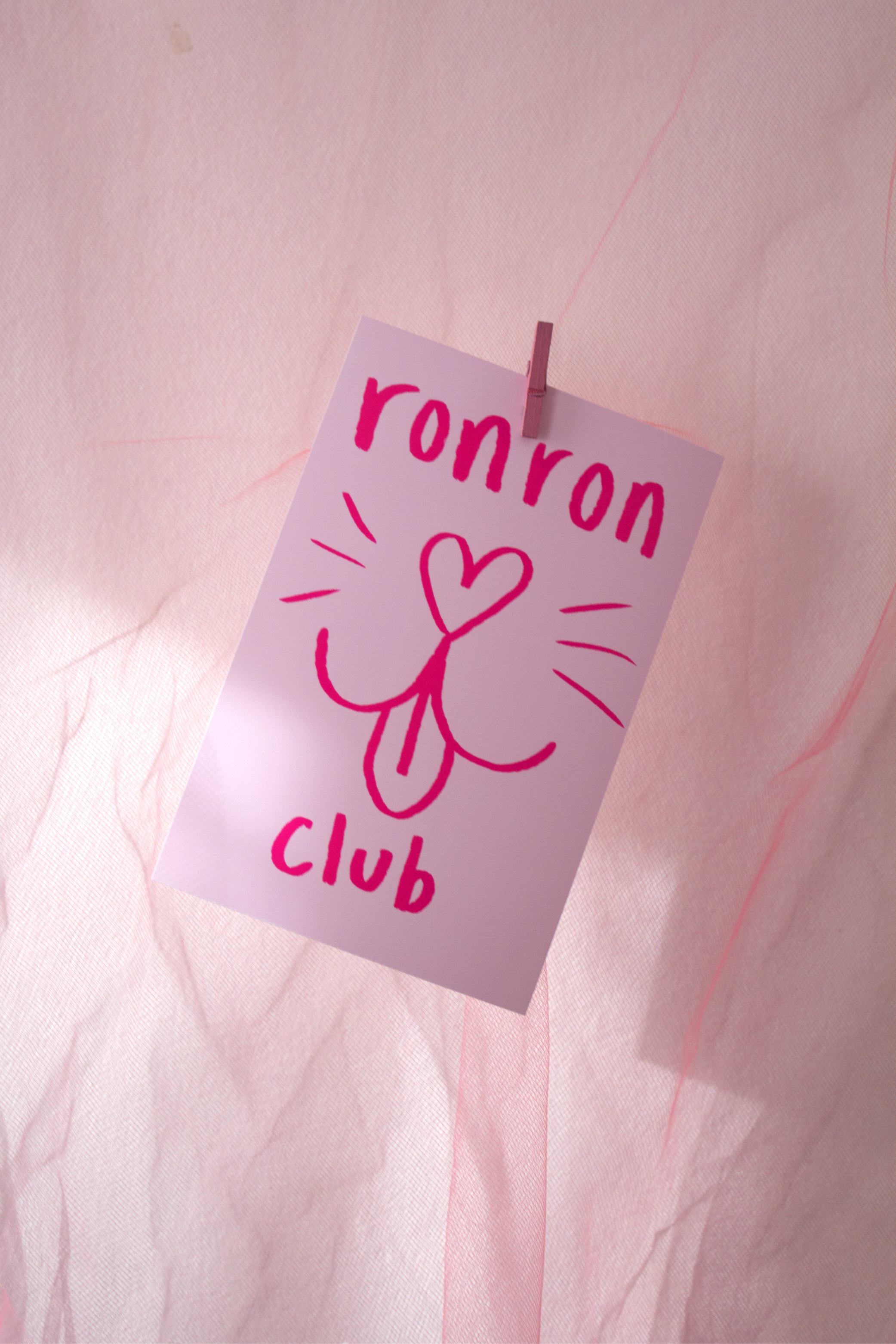 ronron club - small print 4x6