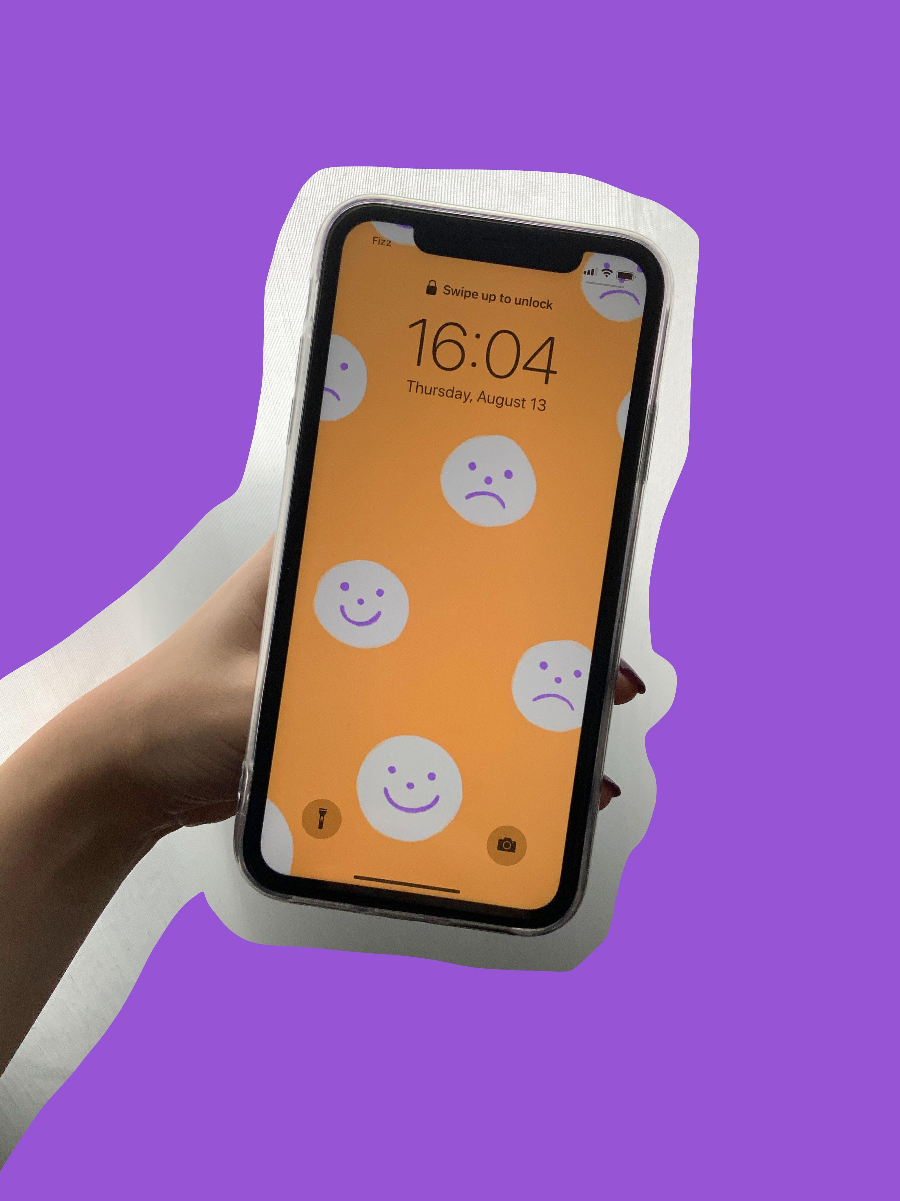 Fond d'écran pour cellulaire smileys — gratuit!