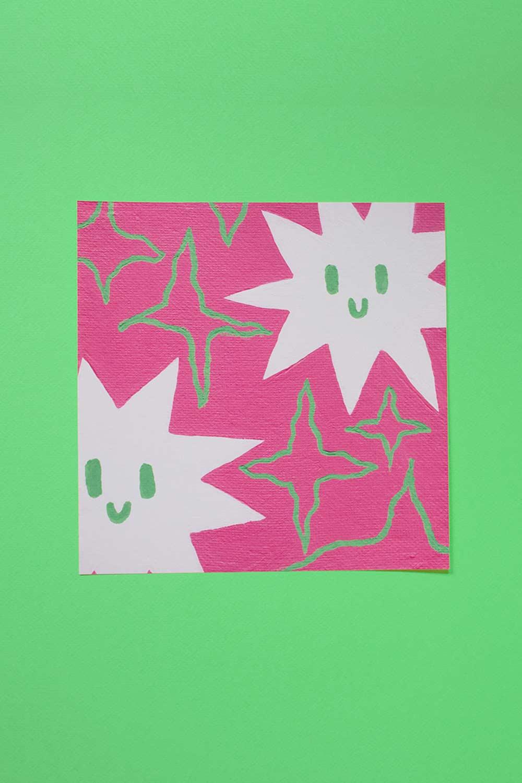 wiggly stuff — print 8x8