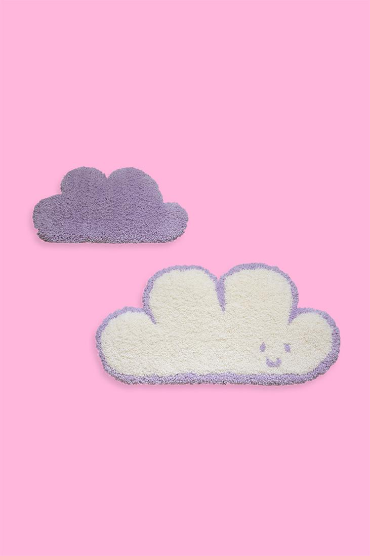 Deux tapis muraux touffeté à la machine / Inspiré de notre design fais de beaux rêves!!! / fait avec amour à Montréal par Audrey Lord / 100% laine / pièce unique, c'est le seul ainsi en vente!!! / dimensions: 16 po de largeur (le petit est 10 po de largeur) / inclus supports à l'arrière pour accrocher sur ton mur préféré!