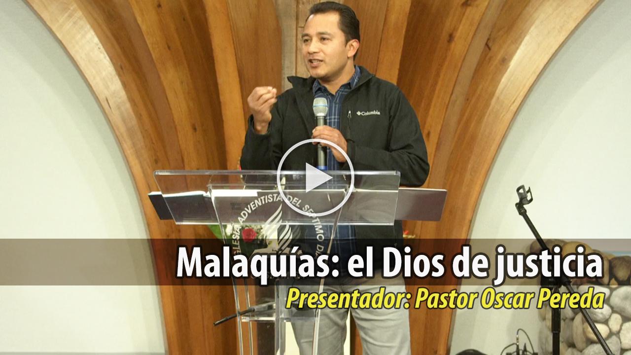 Malaquías: el Dios de justicia