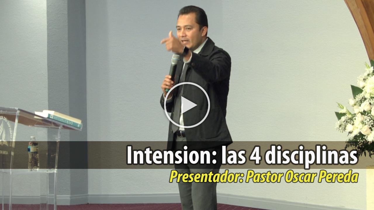 Intension: las 4 disciplinas