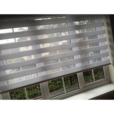 white vision blind fabric