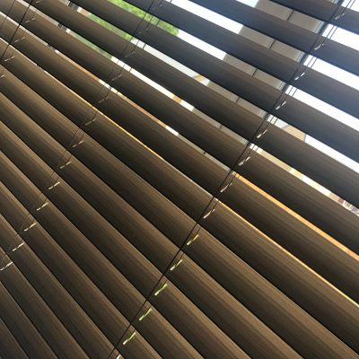 Walnut wood venetian blind