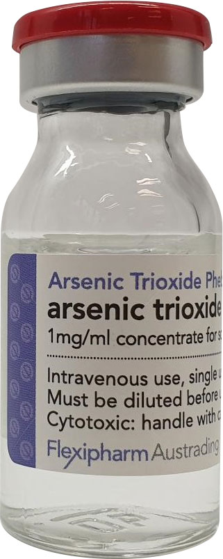 arseenic trioxide phebra vial