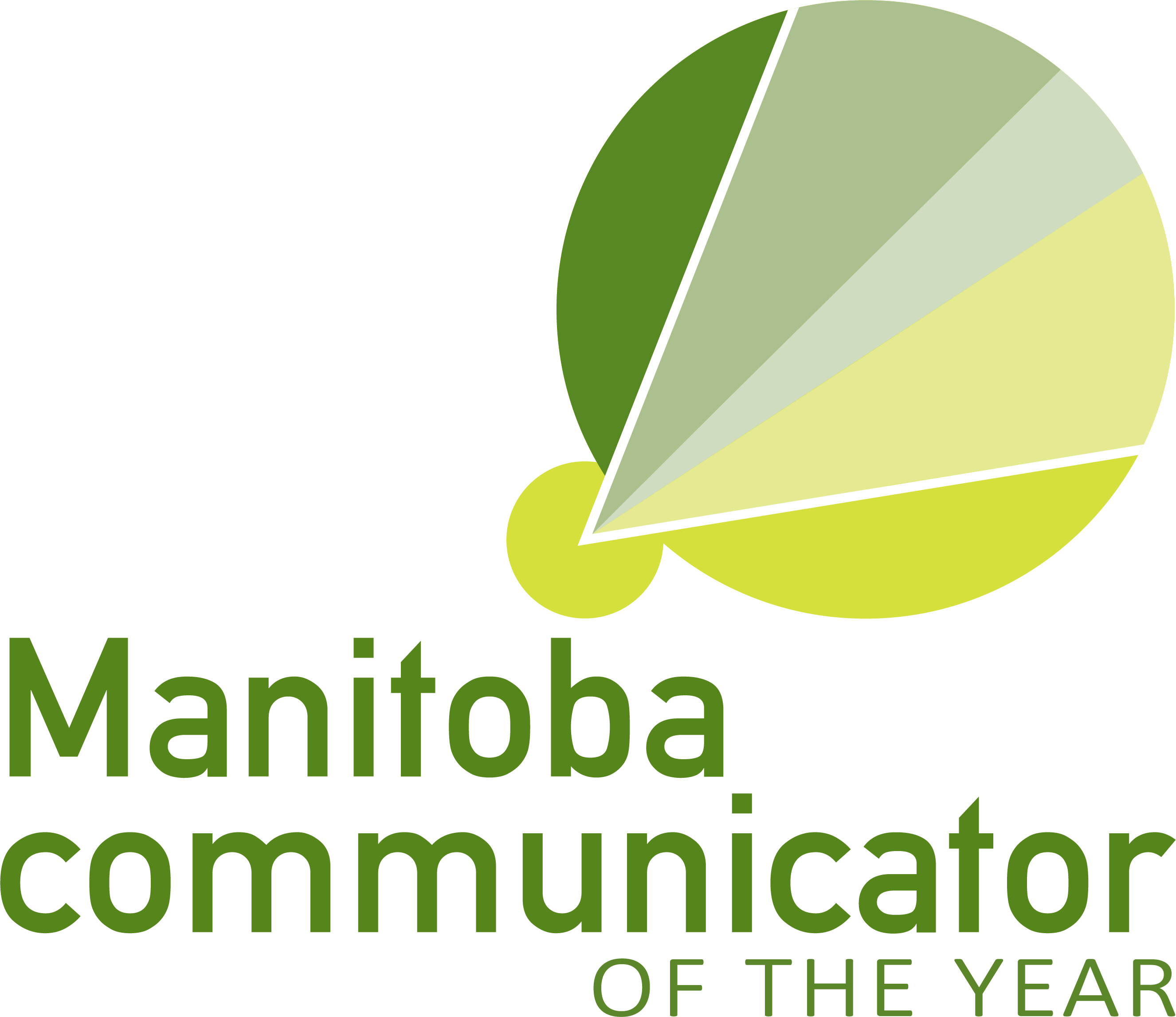 Manitoba Communicator of the Year Logo