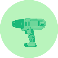 Power tool icon