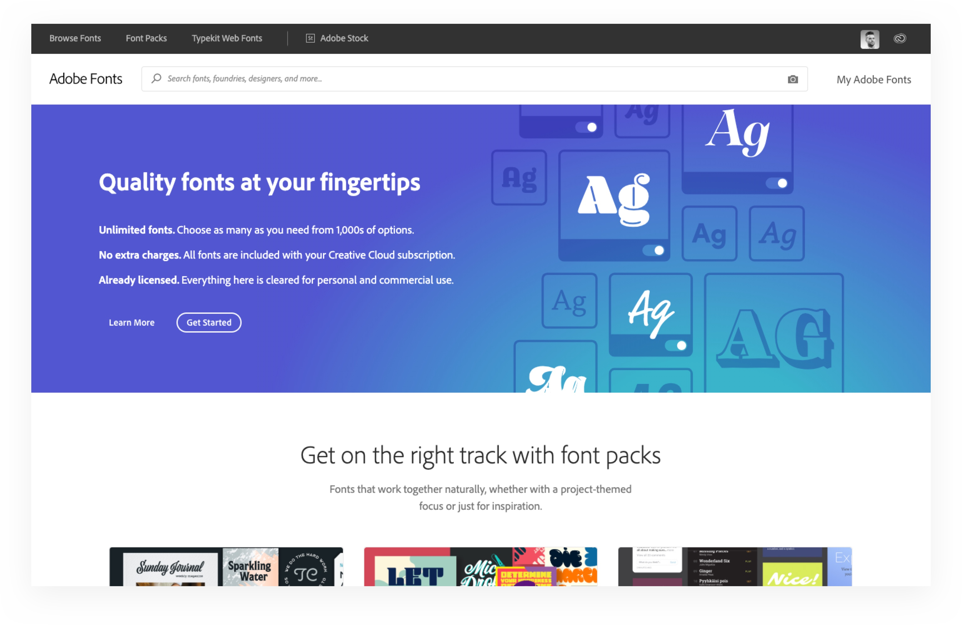 The 5 Best Places For Amazing Fonts ~ Jump