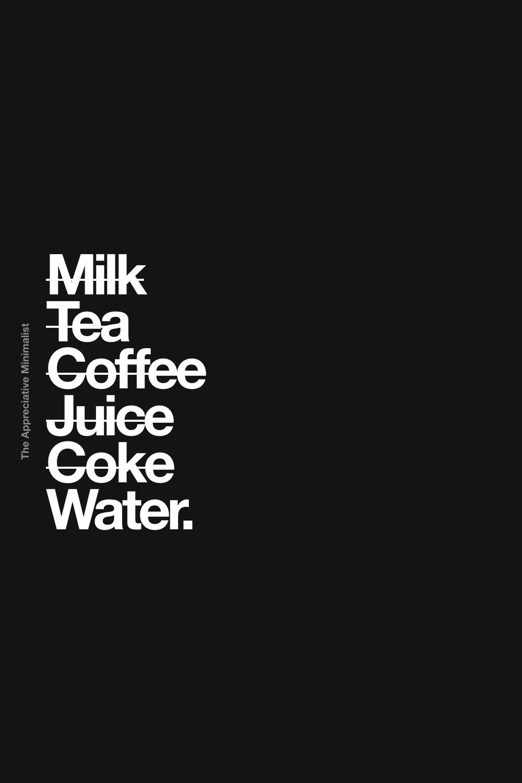 Milk Tea Coffee Juice Coke Water.