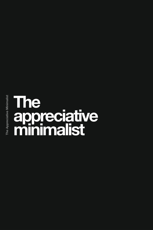 The apprechiative minimliast