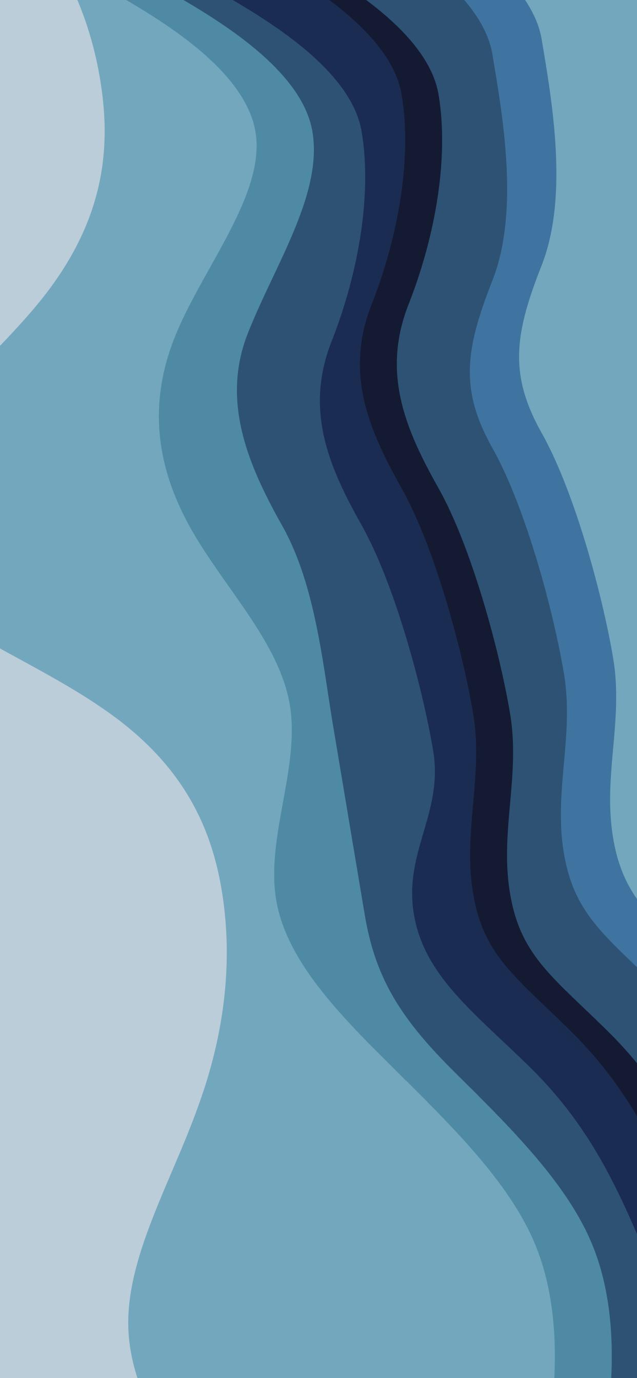Colour long blue