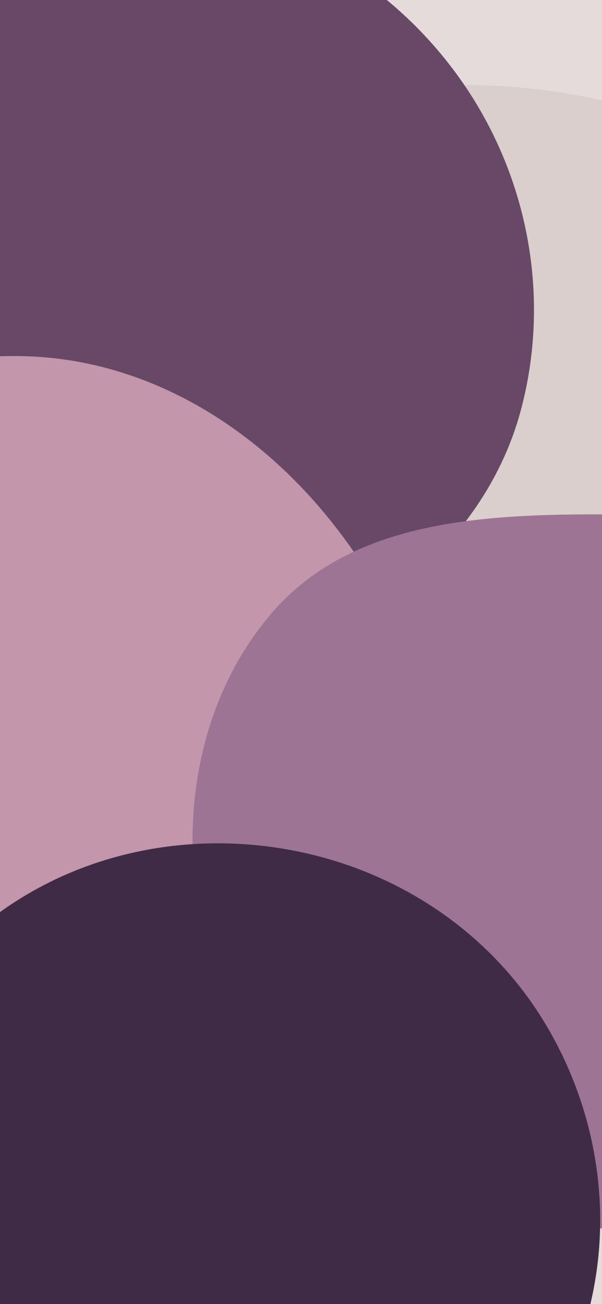 Color Blob Big Purple