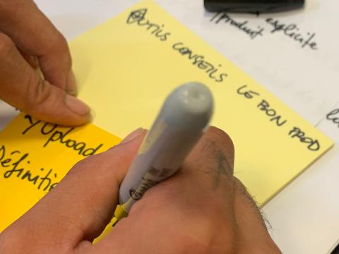 Workshop et facilitation - Design Thinking