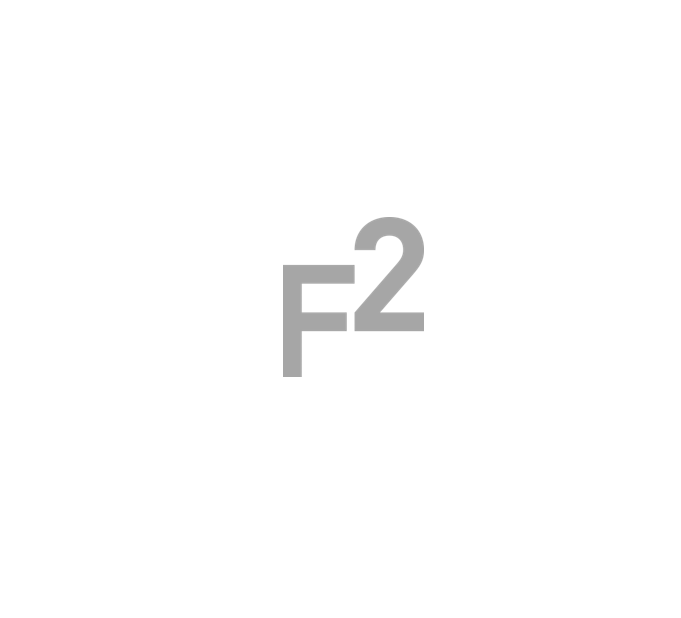 the logo for F2 capital