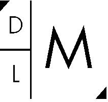 DLM White Logo