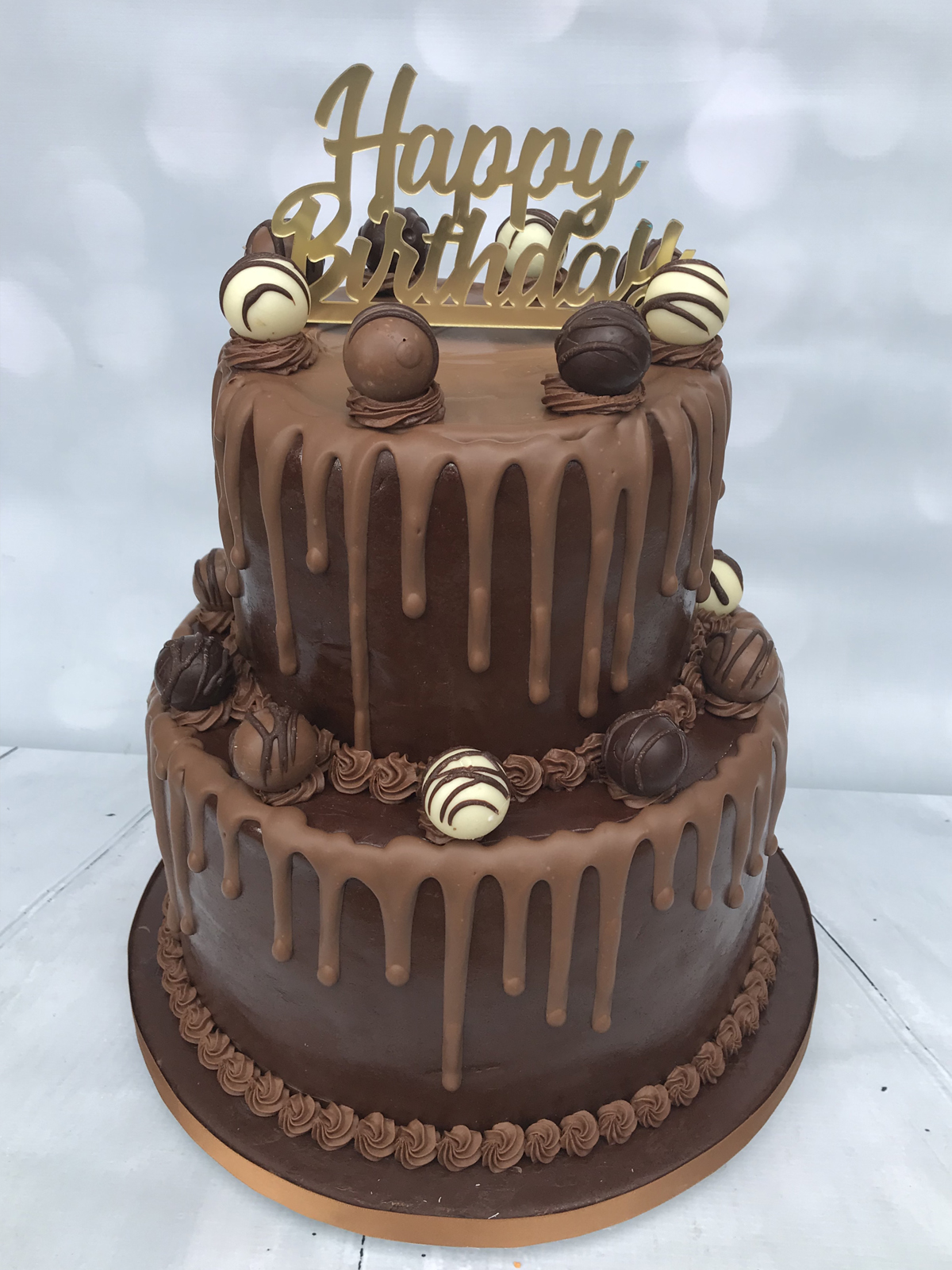 Ultimate Chocolate Birthday Cakes
