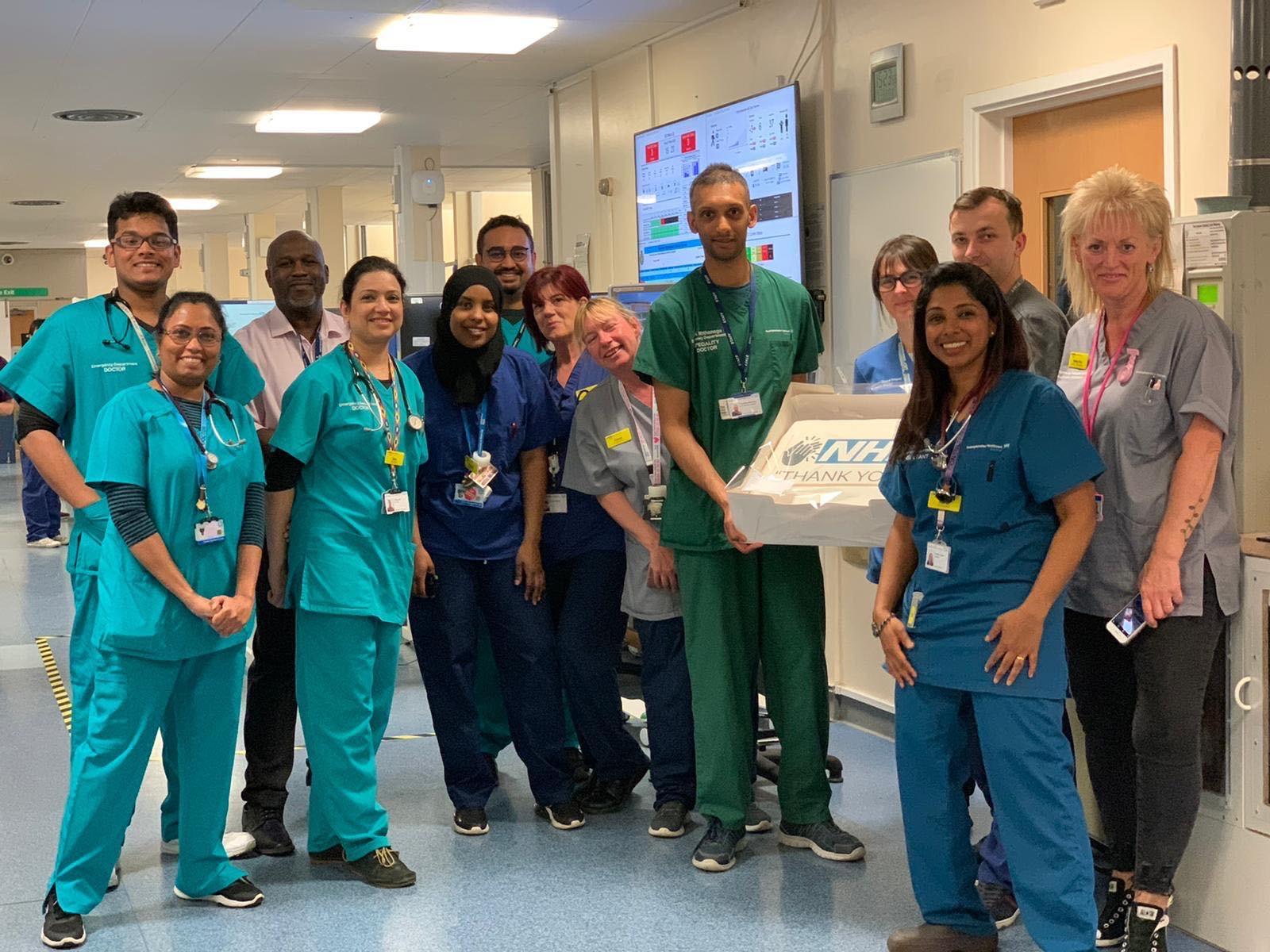 Cakes for NHS Staff at Stoke Mandeville Hospital