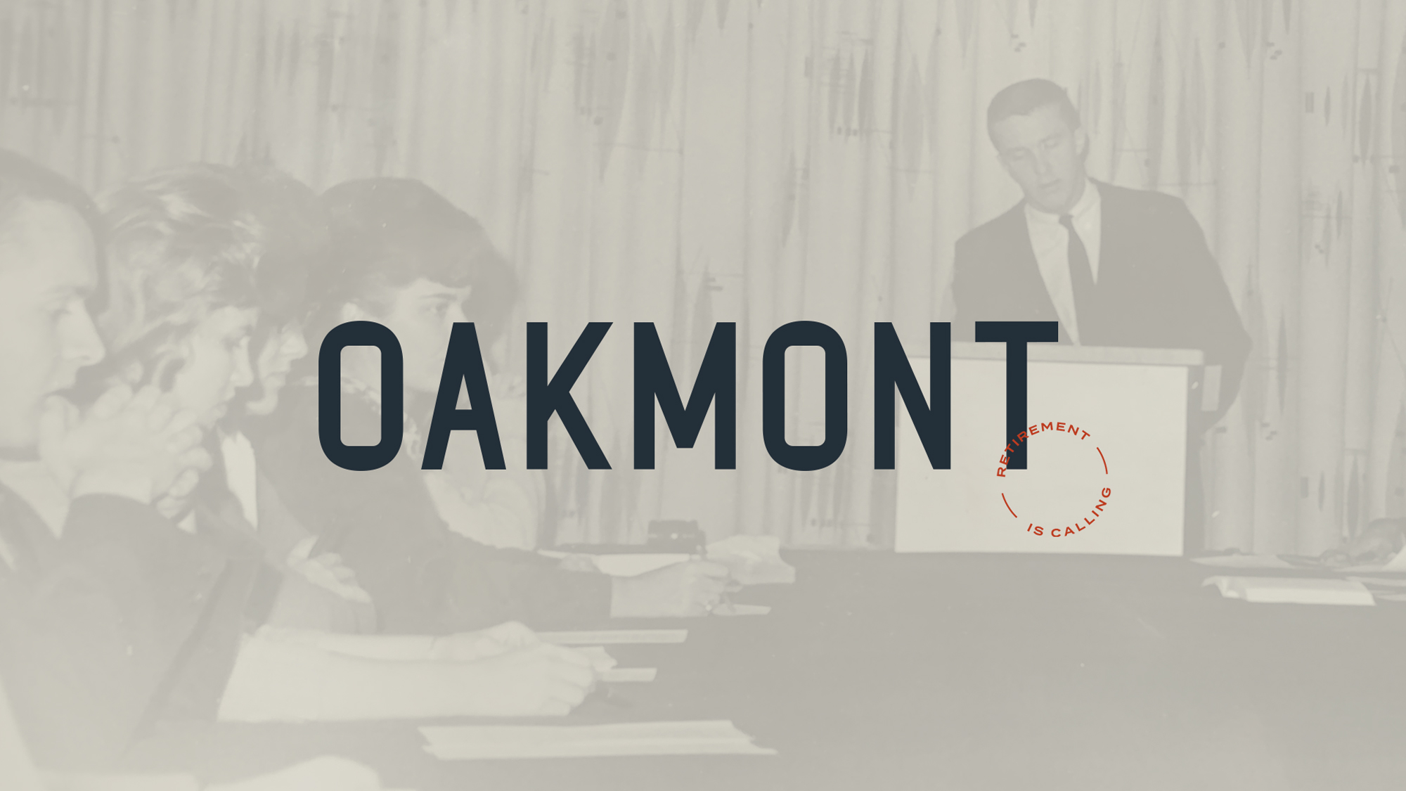 Old photo of Ralph with Oakmont logo overlaid