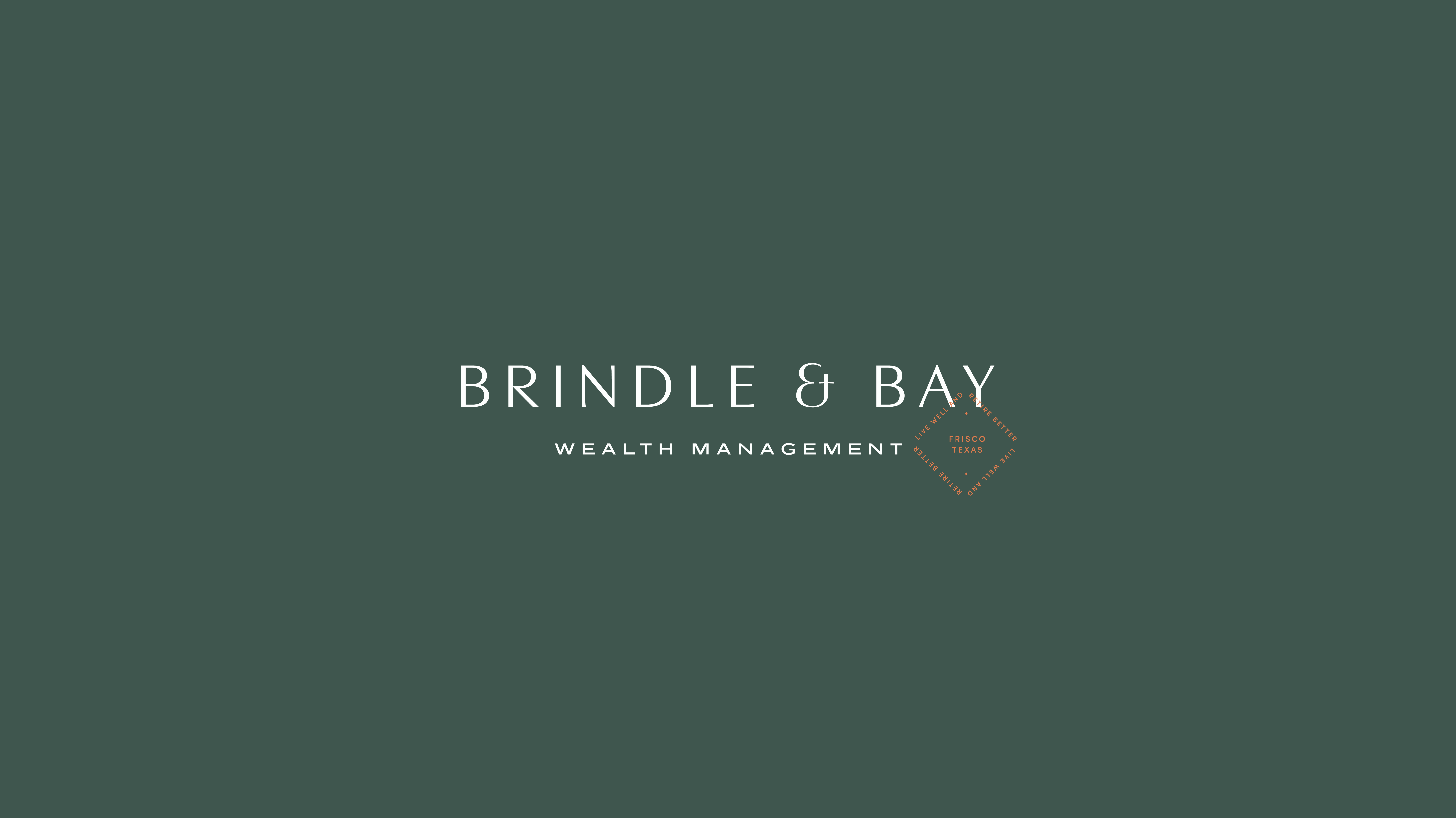 Brindle & Bay logo with stamp