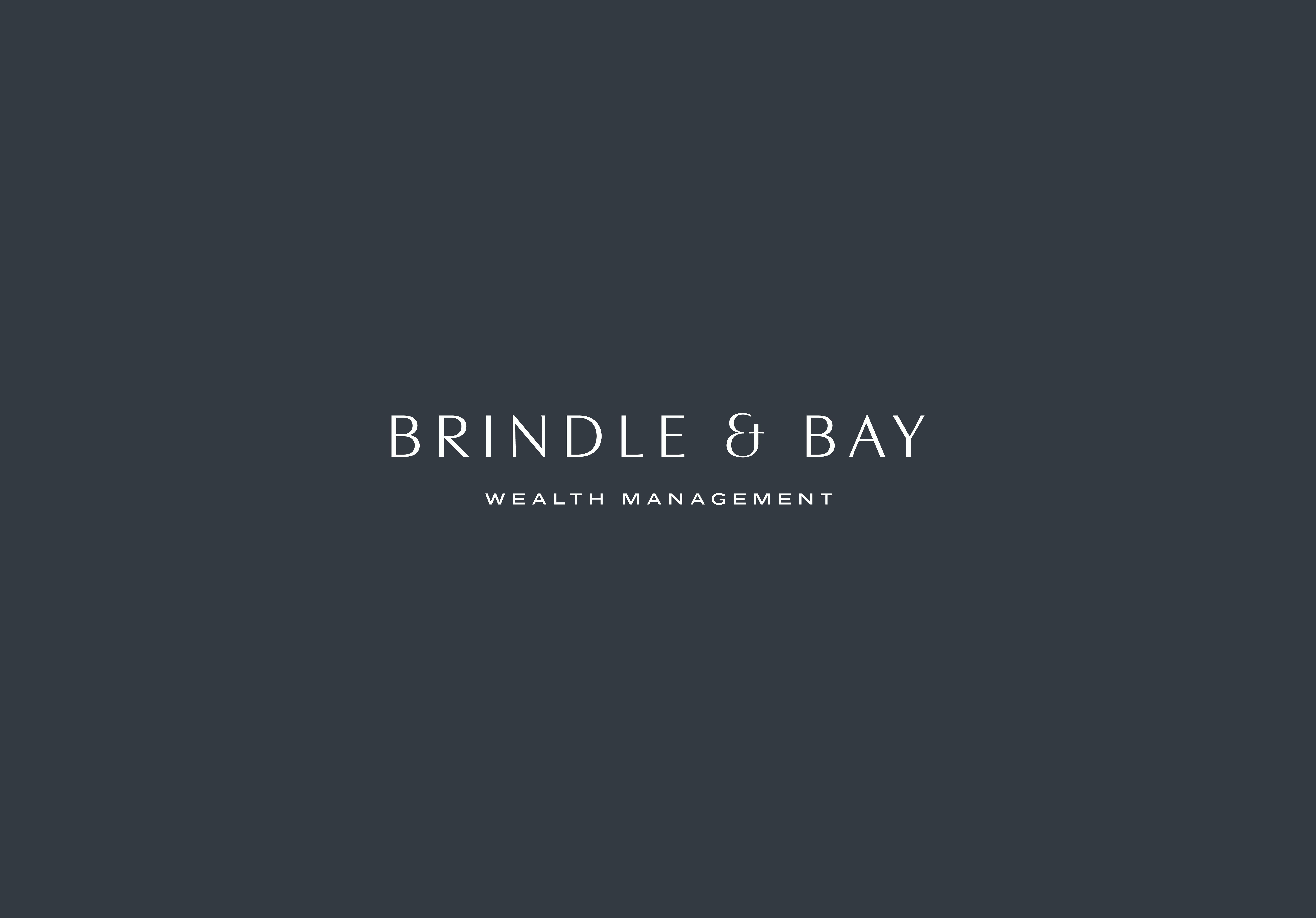Brindle & Bay Wealth Management logo lockup