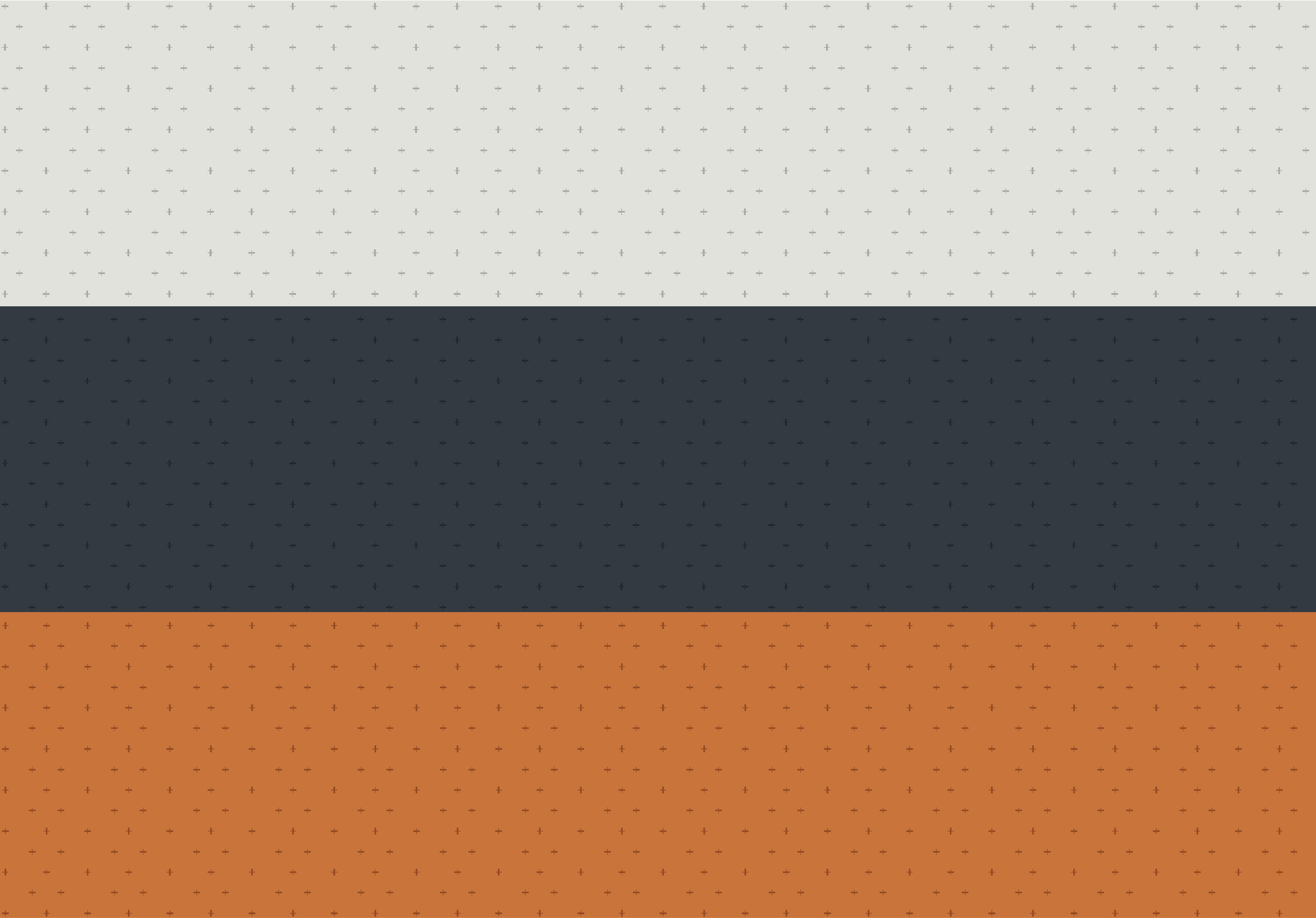 Tone on Tone pattern: gray, blue and orange