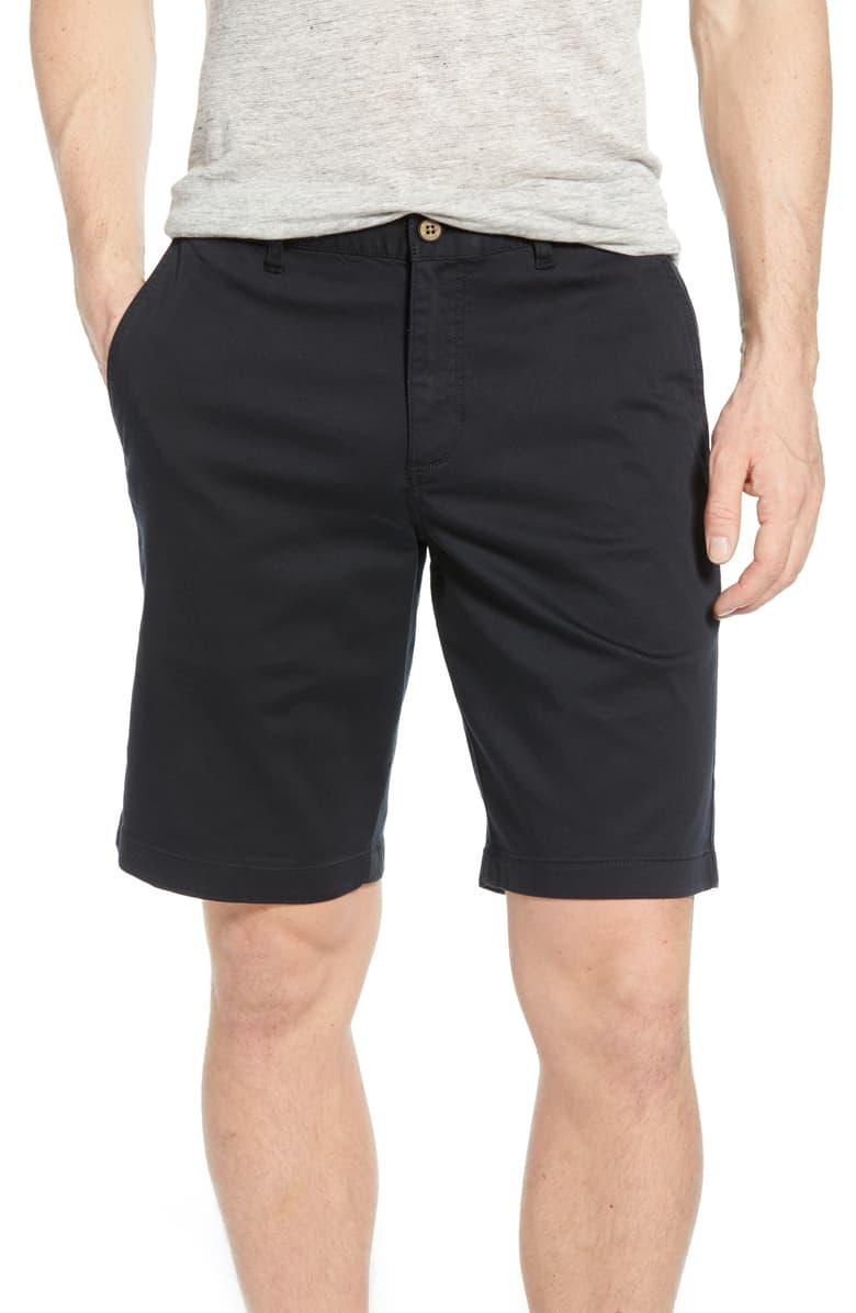 black colored mens shorts