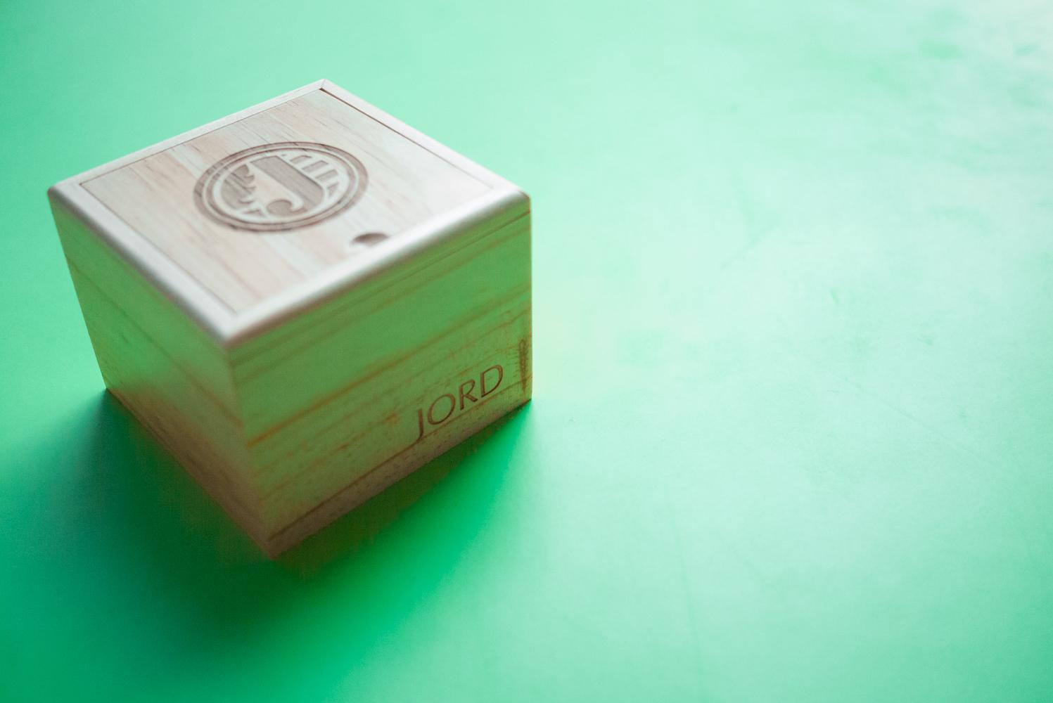 Jord wood box