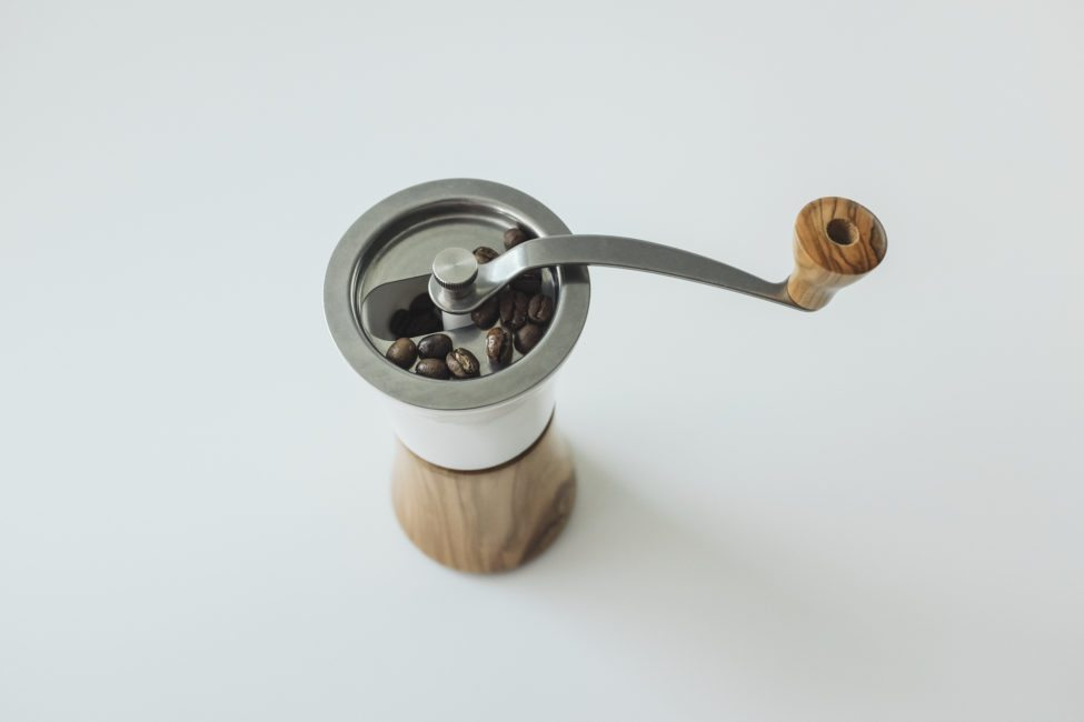 Hario ceramic and wood grinder-13