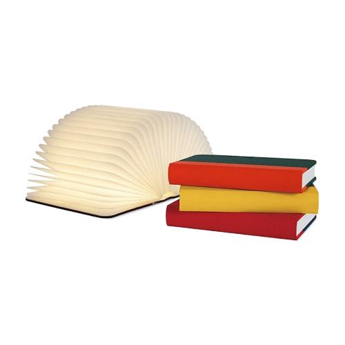 Lumio Fabric Book Lamp