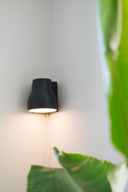 Light in corner of room