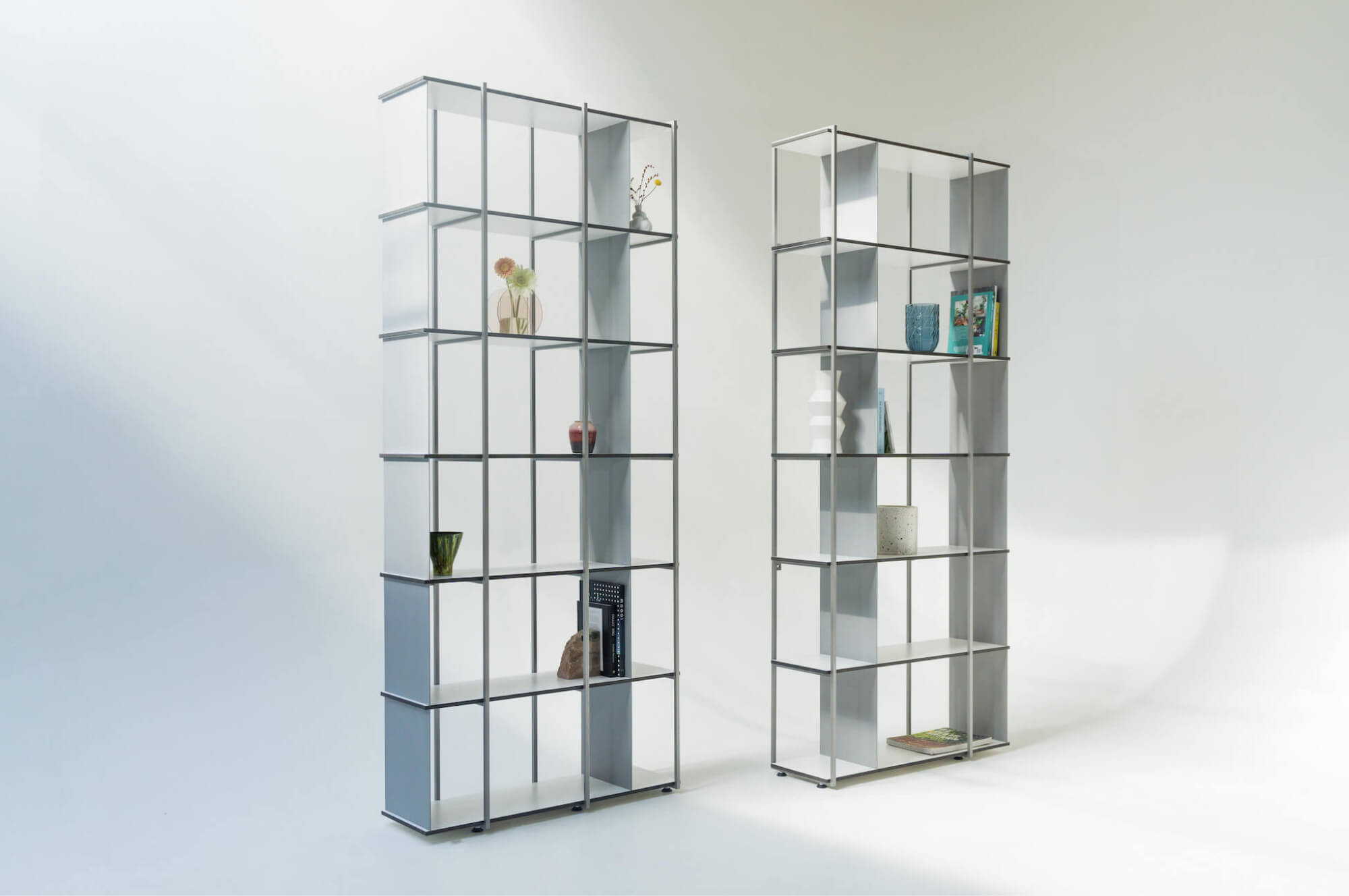 Offset Bookcase