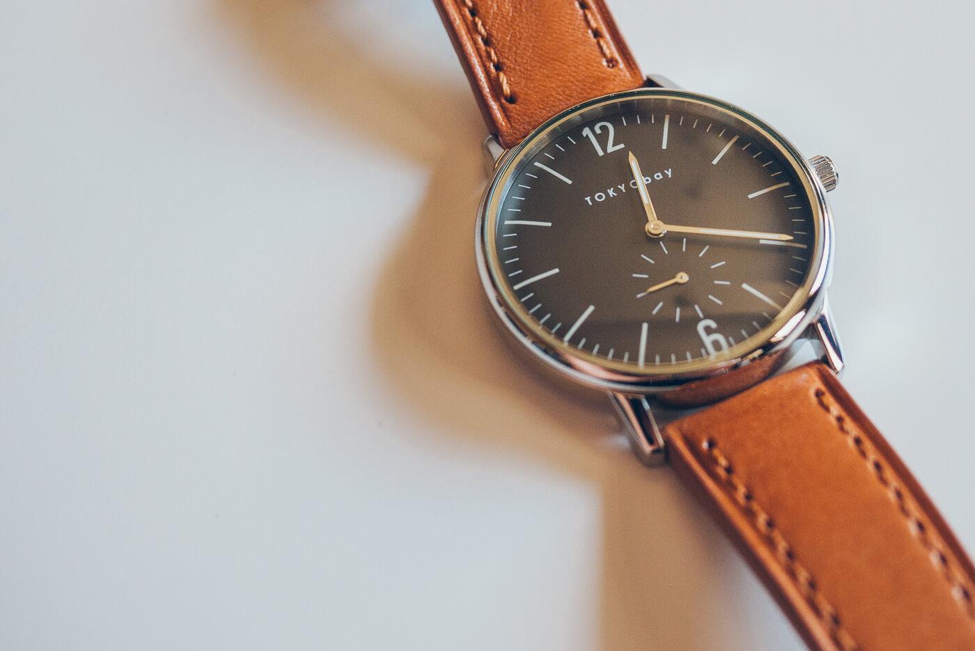 Tokyobay Grant - A simple, dark watch for minimalists