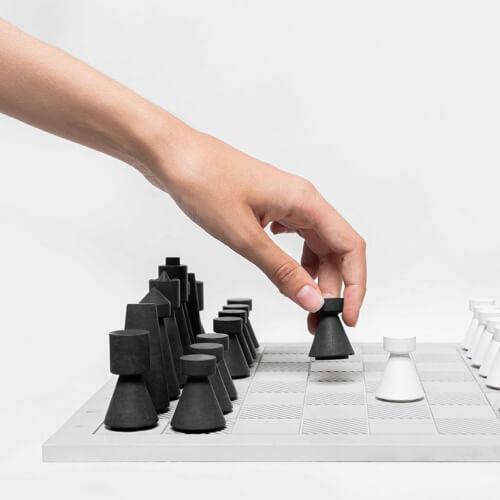 Concrete Chess Board