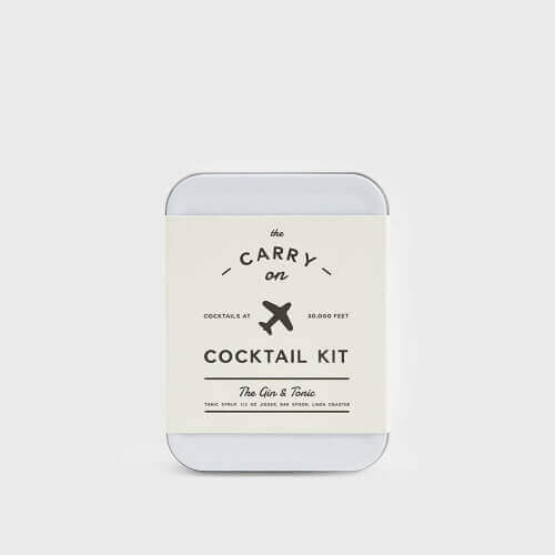 Gin & Tonic Carry-On Cocktail Kit