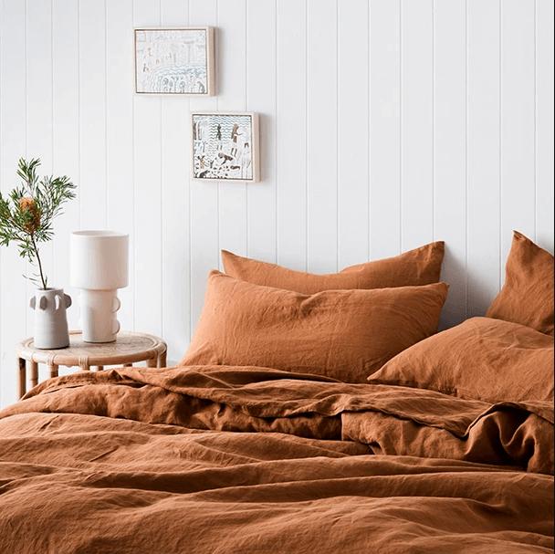 Cultiver Linen Duvet Cover