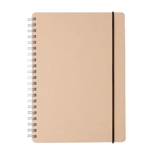 Muji Recycled Paper Notebook