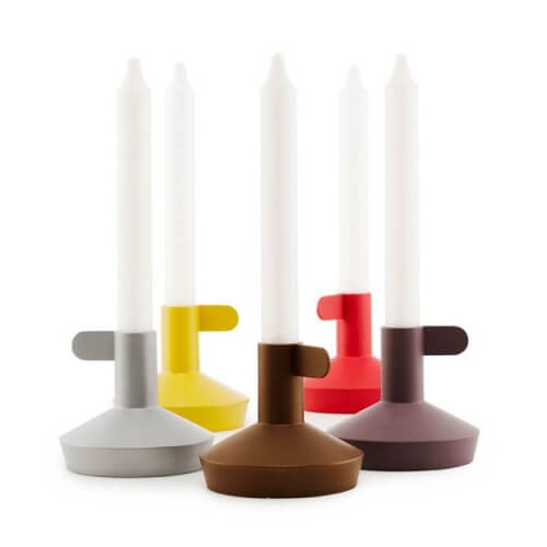 Flag Candle Holders