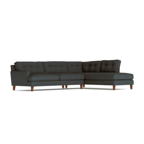 Virgil 2pc Sectional Sofa