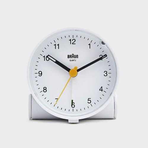 Braun Classic Alarm Clock