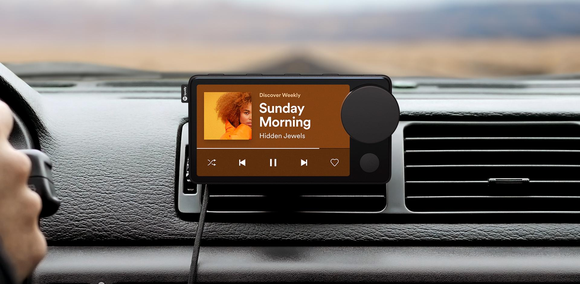 car thing attached to vent playing sunday morning by hidden  jewelss