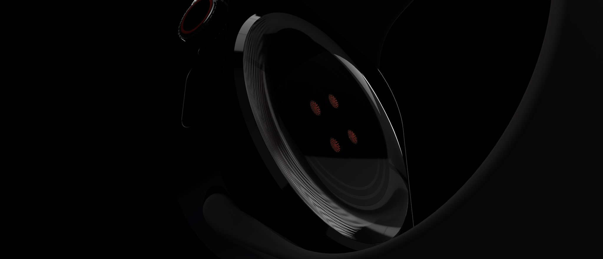 Back of Apple watch 7 face