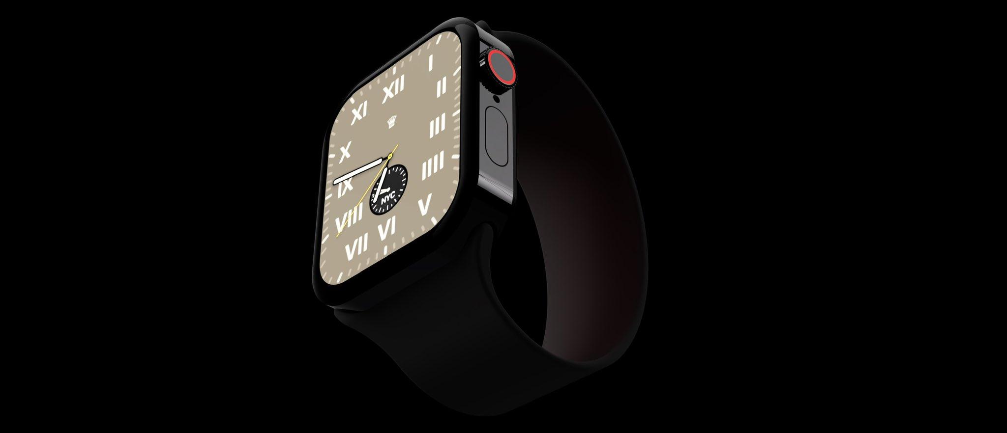 Apple watch 7 face