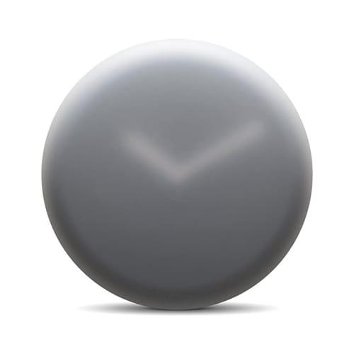Hazy 35 Wall Clock