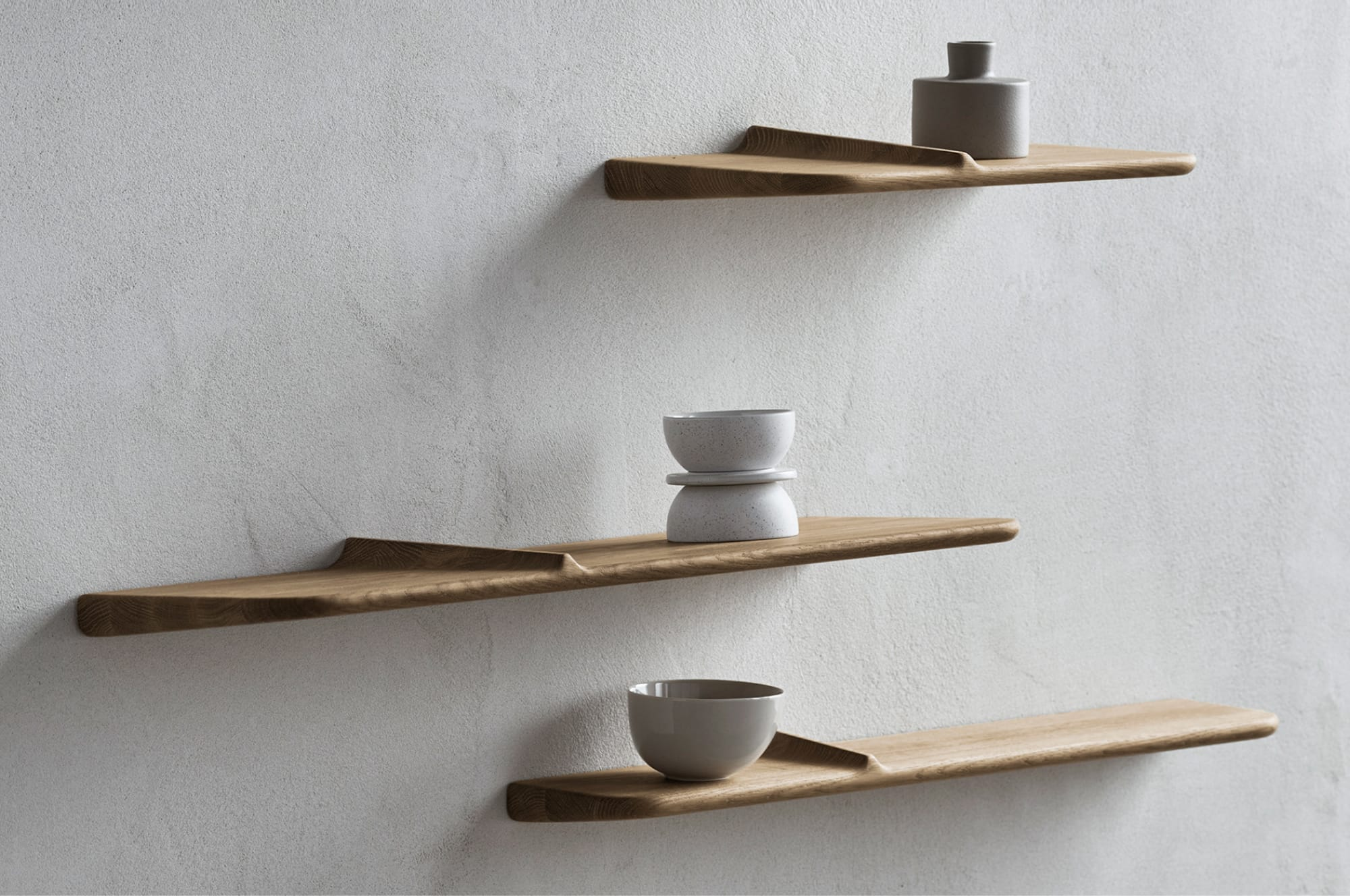 The water inspired Wave Shelf
