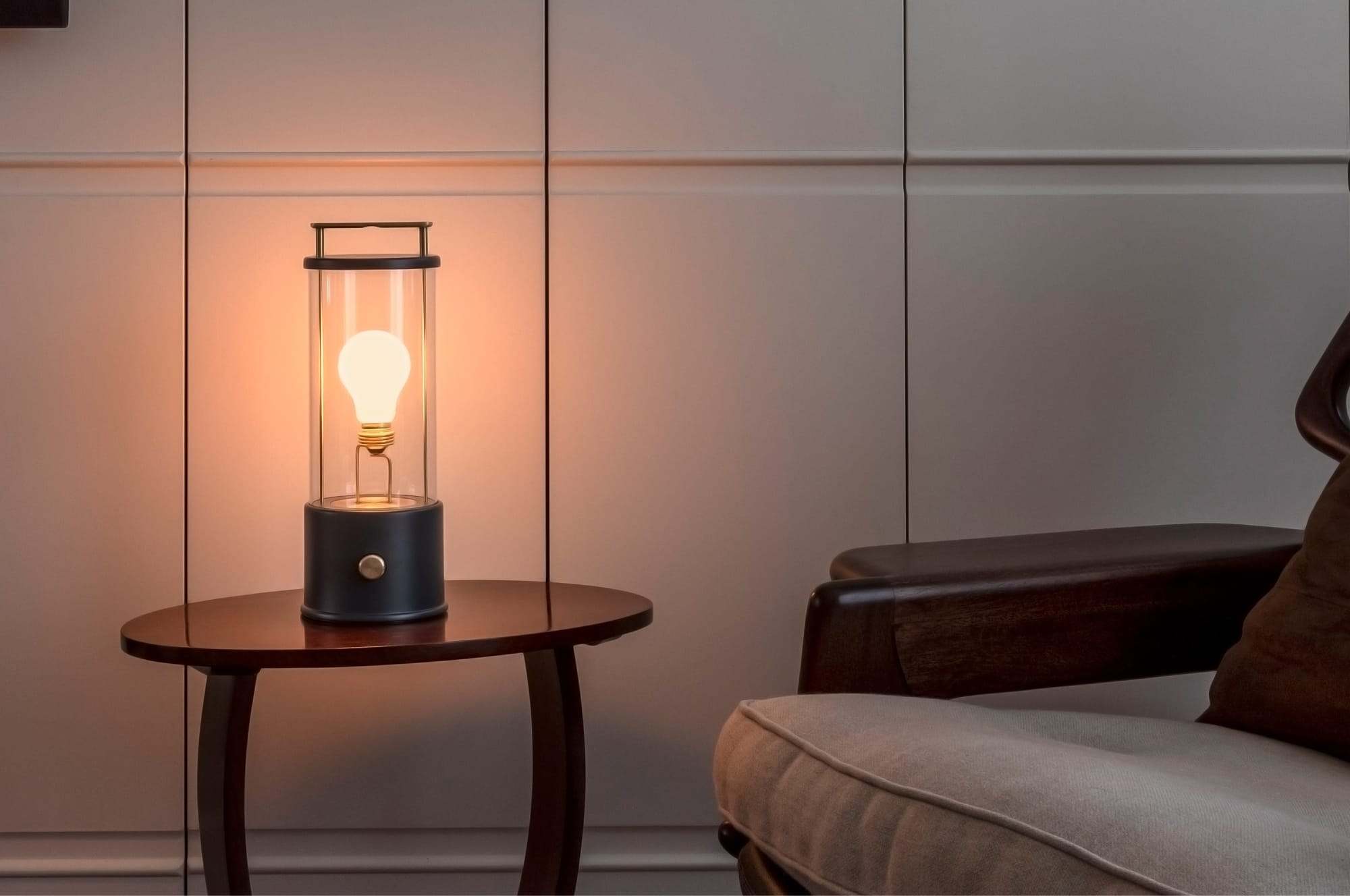 Muse - a timeless, portable light with style