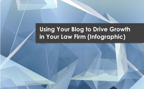 Using Your Blog to Drive Growth in Your Law Firm (Infographic)
