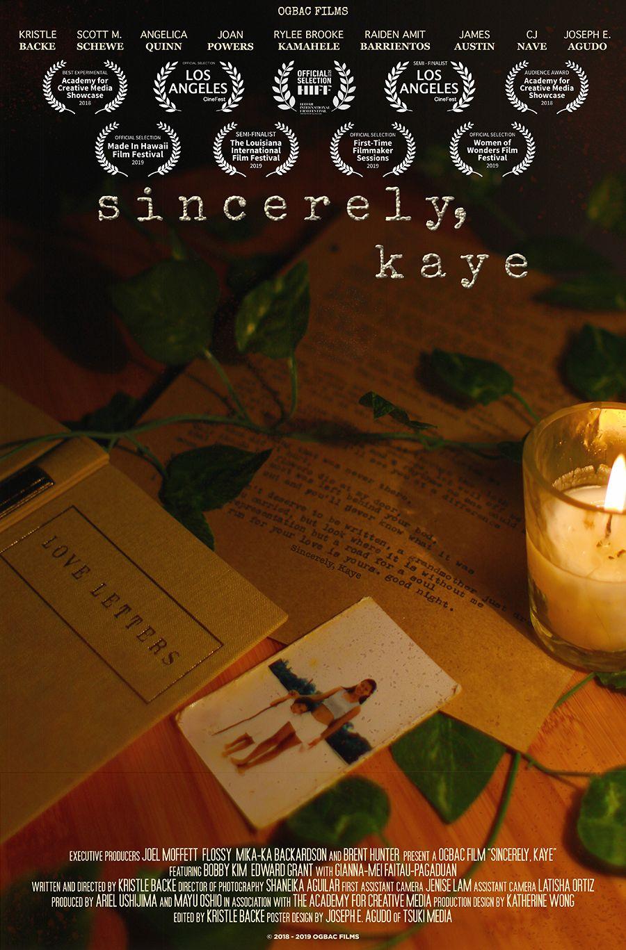 sincerely kaye - shaneika aguilar