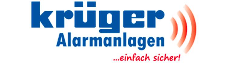 krüger Alarmanlagen Logo