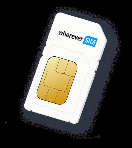 The wherever SIM card